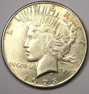 1928 S PEACE SILVER DOLLAR $1   EXCELLENT CONDITION   NICE LUSTER    DATE