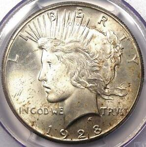 1928 PEACE SILVER DOLLAR $1   PCGS MS64    KEY DATE 1928 P BU UNC COIN