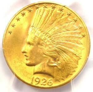 1926 INDIAN GOLD EAGLE  $10 COIN    PCGS MS65    IN MS65 GEM BU GRADE