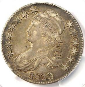 1823 CAPPED BUST HALF DOLLAR 50C   PCGS XF45  EF45     CERTIFIED COIN
