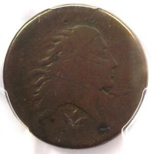 1793 FLOWING HAIR WREATH CENT 1C   CERTIFIED PCGS AG DETAILS    COIN