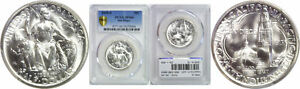 1935 S SAN DIEGO SILVER COMMEMORATIVE PCGS MS 66