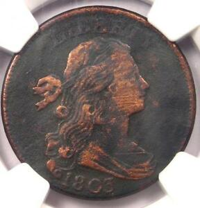 1803 DRAPED BUST LARGE CENT 1C S 262   NGC VF DETAILS    EARLY DATE PENNY