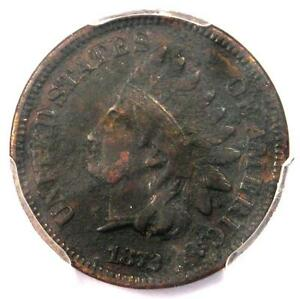 1872 INDIAN CENT 1C   PCGS VF DETAILS    EARLY DATE CERTIFIED PENNY