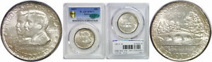 Click now to see the BUY IT NOW Price! 1937 ANTIETAM SILVER COMMEMORATIVE PCGS MS 67  CAC