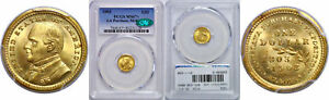 Click now to see the BUY IT NOW Price! 1903 LA. PURCHASE   MCKINLEY $1 GOLD COMMEMORATIVE PCGS MS 67  CAC