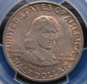 1934 MARYLAND PCGS MS 65 CLEAN ORIGINAL GEM EVENLY TONED IN LIGHT ROSEY VIOLET