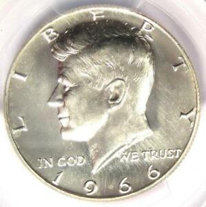 Click now to see the BUY IT NOW Price! 1966 KENNEDY HALF DOLLAR  50C COIN    PCGS MS67    IN MS67   $5 250 VALUE