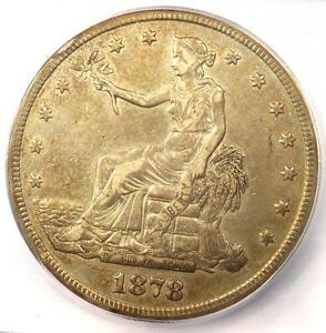 1878 S TRADE SILVER DOLLAR T$1   ICG XF40 DETAIL  EF40     CERTIFIED COIN