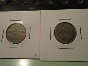 1929 30 31 CANADIAN NICKELS NICE CIRCULATED LOT