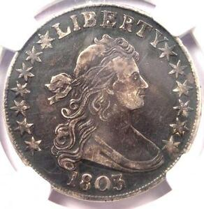 1803 DRAPED BUST HALF DOLLAR 50C    NGC XF DETAILS  EF     $2 100 VALUE IN XF40