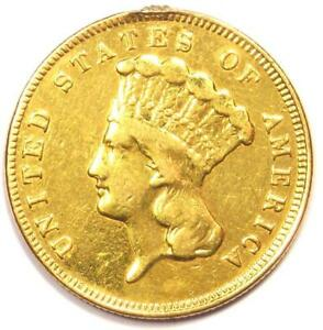 1889 INDIAN THREE DOLLAR GOLD COIN  $3    XF DETAILS  EF     KEY DATE COIN