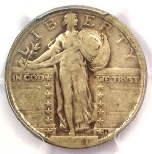 1921 STANDING LIBERTY QUARTER 25C   CERTIFIED PCGS VF30    DATE   $675 VALUE