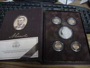 2009 P UNITED STATES PROOF LINCOLN CHRONICLES SET WITH BOX & COA