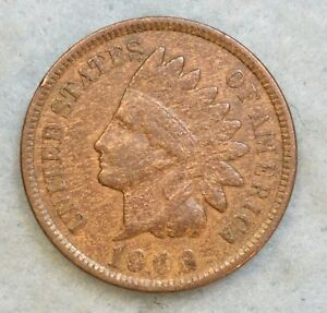 1906 INDIAN HEAD CENT PENNY NICE OLD COIN FAST S&H 497