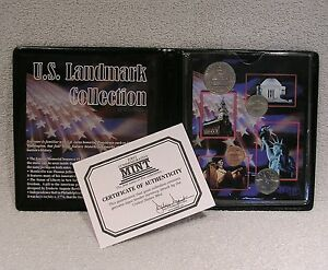 U.S. LANDMARK COLLECTION   COMMEMORATIVE COIN COLLECTION