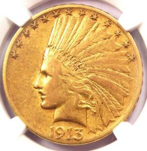 1913 S INDIAN GOLD EAGLE $10   CERTIFIED NGC XF DETAILS  EF     DATE COIN