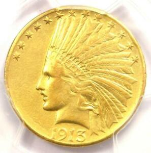 1913 S INDIAN GOLD EAGLE $10   CERTIFIED PCGS AU DETAILS    DATE COIN