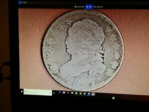 1827 CAPPED BUST DIME 624