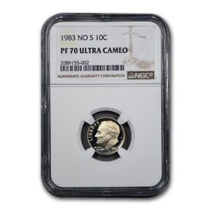 Click now to see the BUY IT NOW Price! 1983 S ROOSEVELT DIME PF 70 UCAM NGC   SKU185545