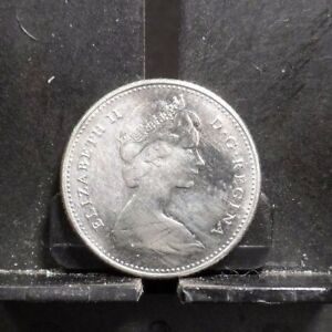 CIRCULATED 1968 10 CENTS CANADIAN COIN  120917 1 ..