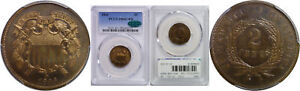 Click now to see the BUY IT NOW Price! 1866 TWO CENT PIECE PCGS PR 66  RB CAC