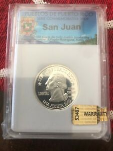 Click now to see the BUY IT NOW Price! 2009 UNIQUE  SILVER CLAD 1/100 PUERTO RICO QUARTER SET 78 PUEBLOS  TOWNS