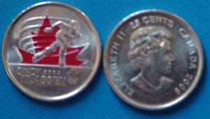 CANADA QUARTER 25 CENTS 2010 VANCOUVER OLYMPIC