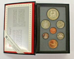 CANADA DOUBLE DOLLAR PROOF SET ROYAL CANADIAN MINT 1988 W/ COA