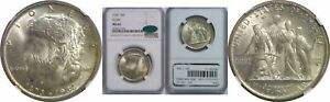 1936 ELGIN SILVER COMMEMORATIVE NGC MS 66 CAC