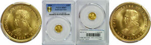 1904 LEWIS AND CLARK $1 GOLD COMMEMORATIVE PCGS MS 67