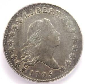 1795 FLOWING HAIR HALF DOLLAR 50C COIN   CERTIFIED ICG XF40   $11 900 VALUE