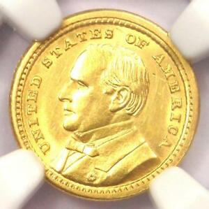 1903 MCKINLEY LOUISIANA PURCHASE GOLD DOLLAR COIN G$1   NGC UNC DETAIL  MS