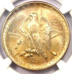 1936 TEXAS HALF DOLLAR 50C   CERTIFIED NGC MS68    IN MS68   $9 000 VALUE