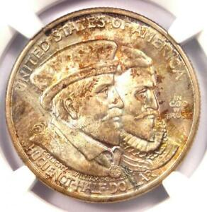 1924 HUGUENOT HALF DOLLAR 50C   NGC MS67 CAC    IN MS67 CAC   $3 300 VALUE