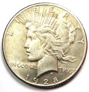 1928 PEACE SILVER DOLLAR $1  1928 P    EXCELLENT CONDITION   NICE LUSTER