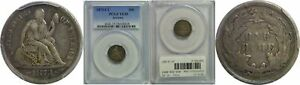 Click now to see the BUY IT NOW Price! 1873 CC SEATED LIBERTY DIME PCGS VF 35 ARROWS
