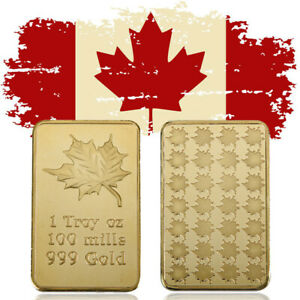 WR CANADA MAPLE LEAVES GOLD COMMEMORATIVE COIN SOUVENIRS COLLECTIBLE GIFT