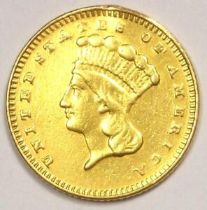 1886 INDIAN DOLLAR GOLD COIN  G$1    XF DETAILS  EF     DATE COIN