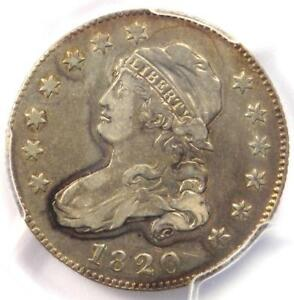 1820 CAPPED BUST QUARTER 25C COIN B 5 R5   PCGS VF DETAILS   RARITY 5 VARIETY