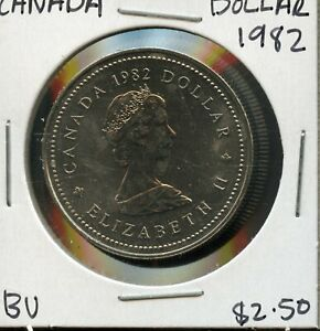 1982 CANADA 125TH CONFEDERATION   CONSTITUTION ANNIVER. COMMEM. $1 DOLLAR FC169