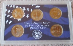 2000 S UNITED STATES MINT PROOF SET WITH STATE QUARTERS NO BOX/COA