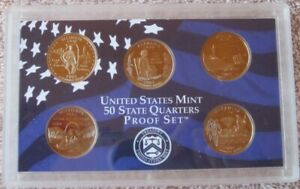 2003 S UNITED STATES MINT PROOF SET WITH STATE QUARTERS NO BOX/COA