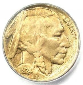 Click now to see the BUY IT NOW Price! 1924 S BUFFALO NICKEL 5C   CERTIFIED ICG MS60 DETAILS    DATE COIN