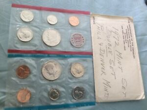 1972 U.S. 11 COIN MINT SET PHILADELPHIA & DENVER