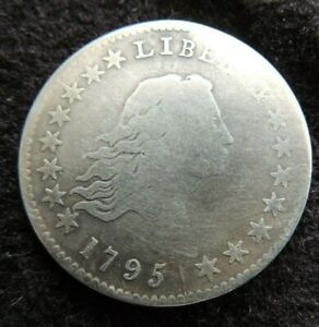 1795 HALF DOLLAR O 117A SOLID ORIGINAL NO PROBLEMS LATE DIE STATE
