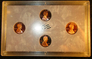 2009 S LINCOLN CENT/PENNY PROOF SET 4 COIN BICENTENNIAL NO BOX  OR  COA  423191