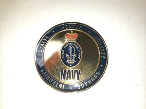 ROYAL AUSTRALIAN NAVY COMMEMORATIVE COIN
