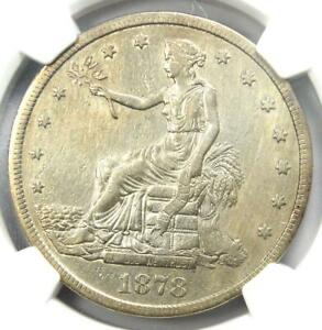 1878 CC TRADE SILVER DOLLAR T$1   NGC XF DETAILS    CARSON CITY COIN