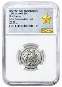 2019 W LOWELL AMERICA THE BEAUTIFUL QUARTER NGC MS65 FR WEST POINT STAR SKU57944